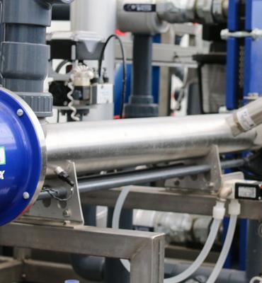 Microflor reuse irrigation water